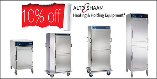 10% off selected Alto-Shaam Heating & Holding!