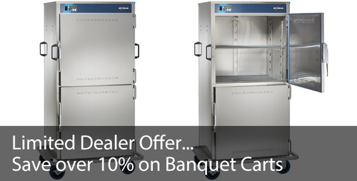 Limited Offer: Save 10% on Banquet Carts