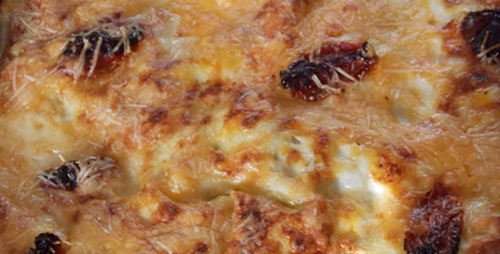 Creamy smoked fish between pasta sheets: Part 1