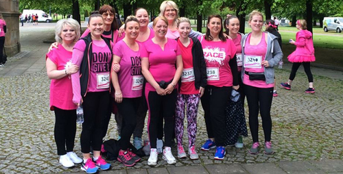 FEM Charity Event: Race For Life