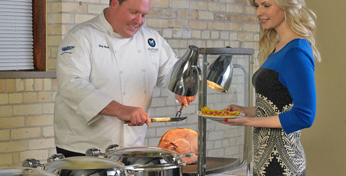 'Meating' increased demand for quality carving stations