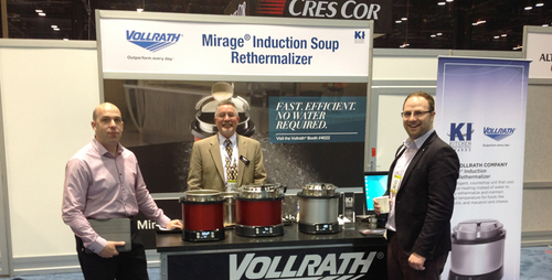 FEM at NRA: Vollrath Induction Soup Rethermaliser