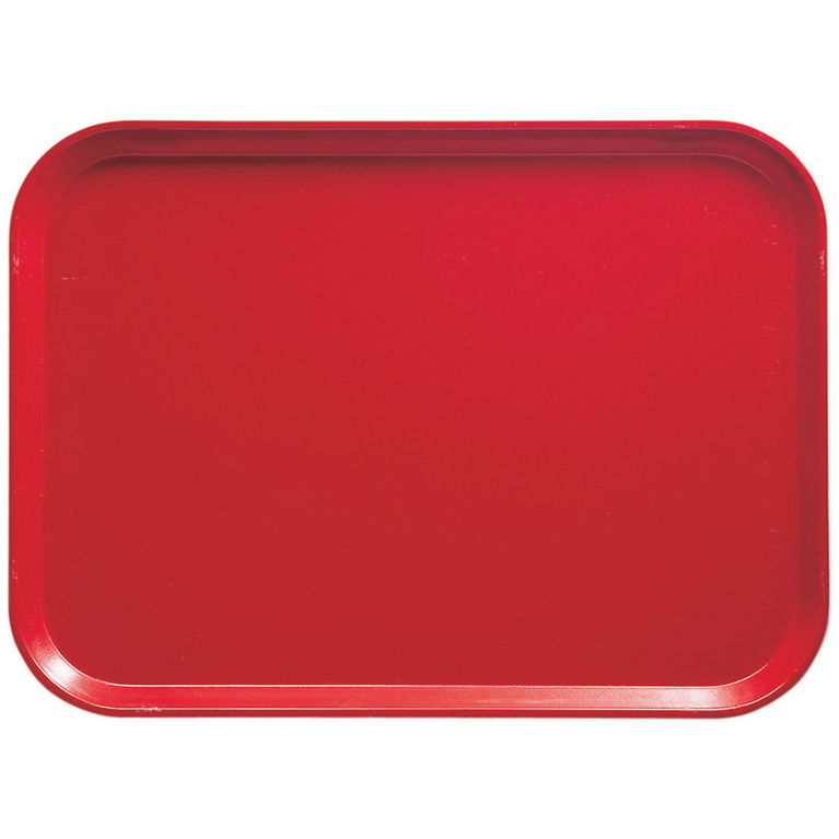 Signal Red Fibreglass Camtray