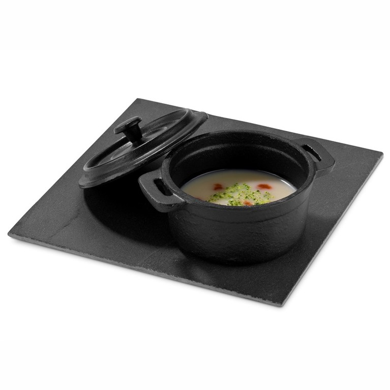 High Round Casserole With Lid