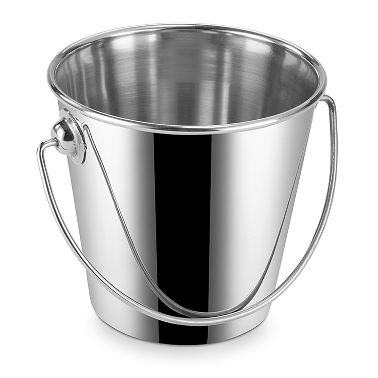 Mini Bucket Stainless Steel