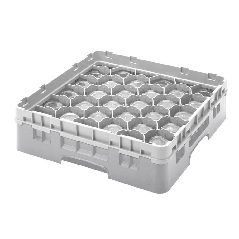Grey 30 Compartment Camrack