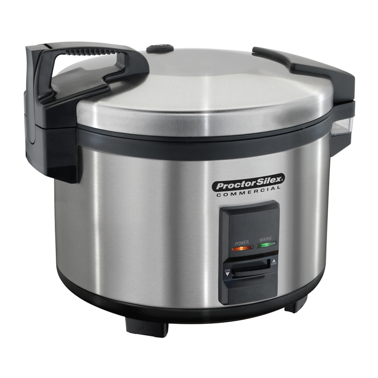 40 Cup Rice Cooker/Warmer