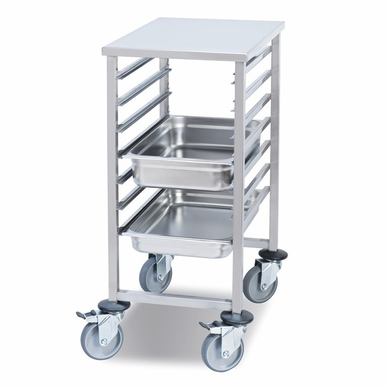 7 Rail 1/1 Gastronorm Transport Trolley
