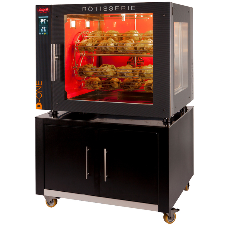 D-ONE High Speed Rotisserie with Automatic Cleaning