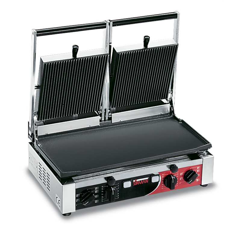 PD Double Flat/Ribbed Panini Grill
