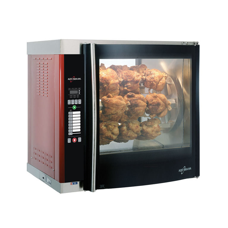 High-Speed Double Pane Electric Rotisserie