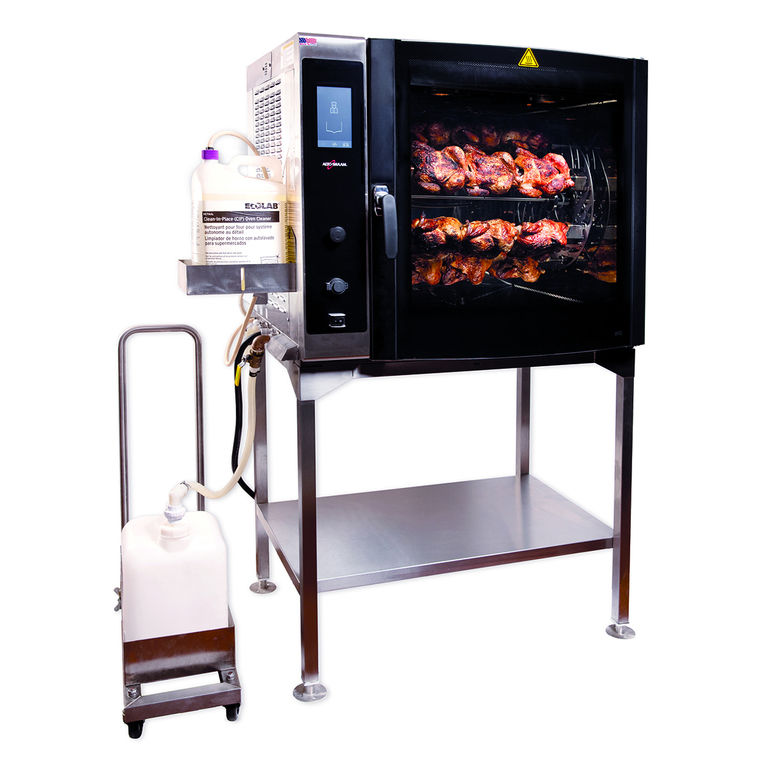 Self-Cleaning Electric Rotisserie