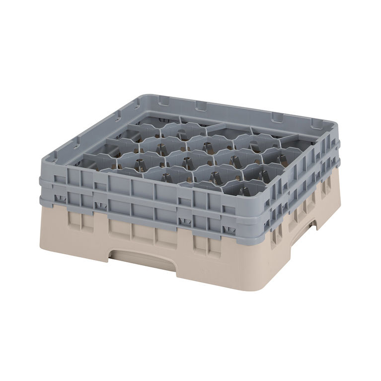 Beige 20 Compartment Camrack