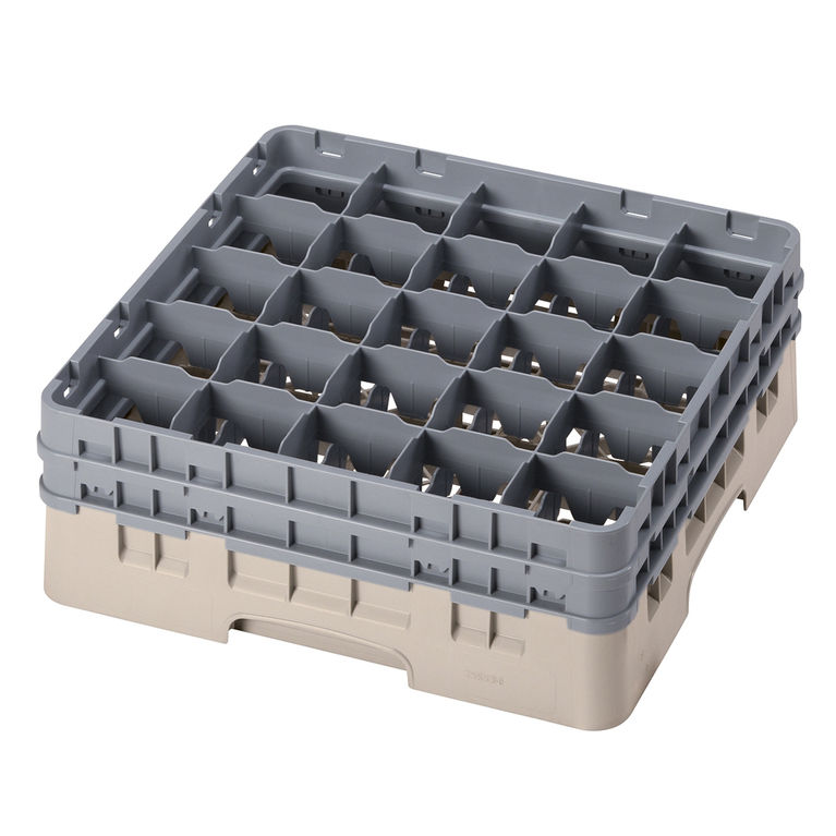 Beige 25 Compartment Camrack