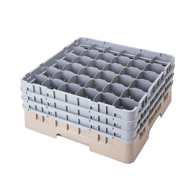 Beige 36 Compartment Camrack
