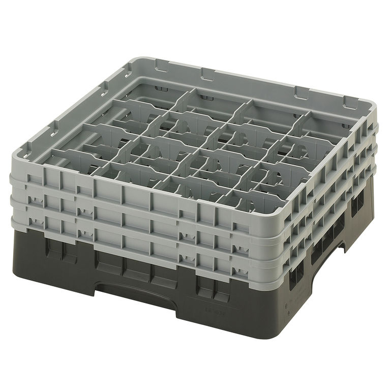 Black 16 Compartment Camrack