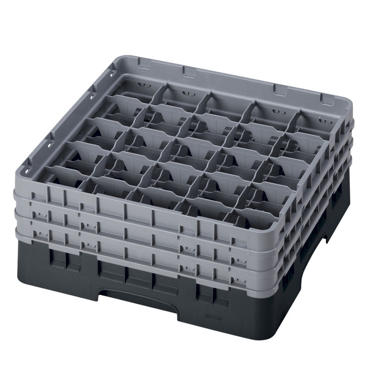 Black 25 Compartment Camrack