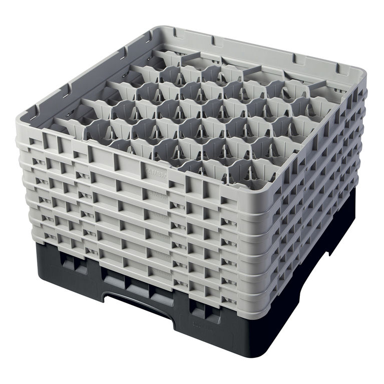 Black 30 Compartment Camrack