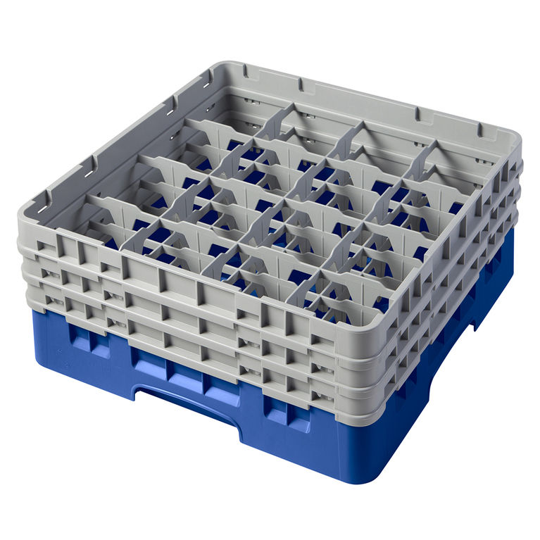Blue 16 Compartment Camrack