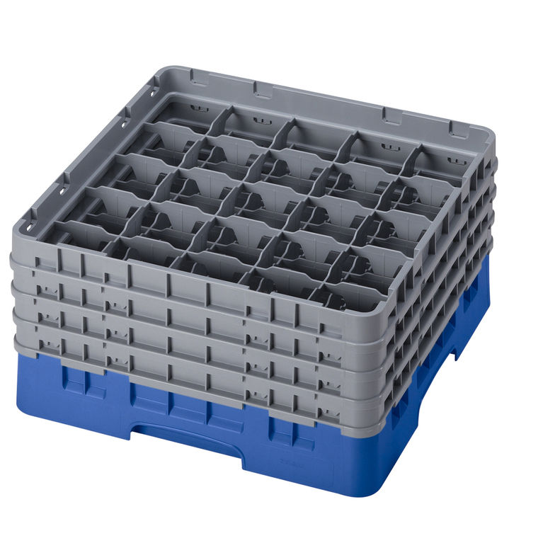 Blue 25 Compartment Camrack