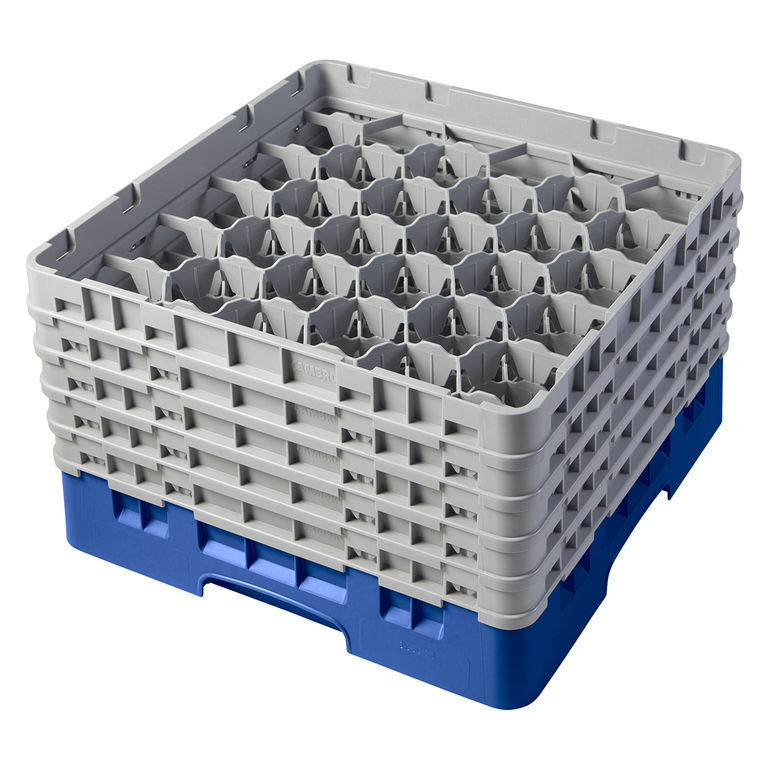 Blue 30 Compartment Camrack