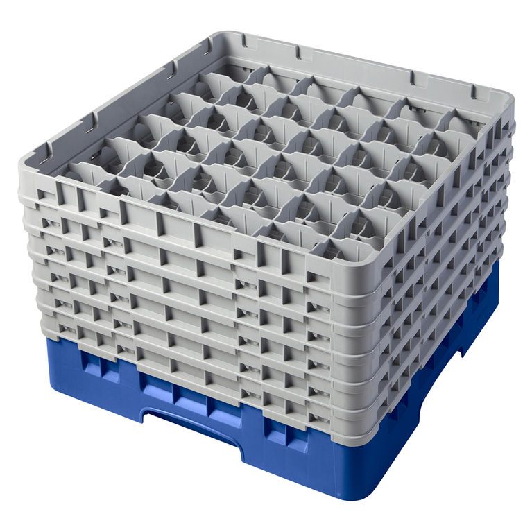 Blue 36 Compartment Camrack