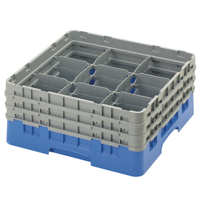 Blue 9 Compartment Camrack
