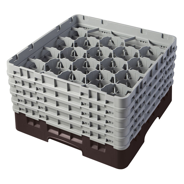 Brown 20 Compartment Camrack