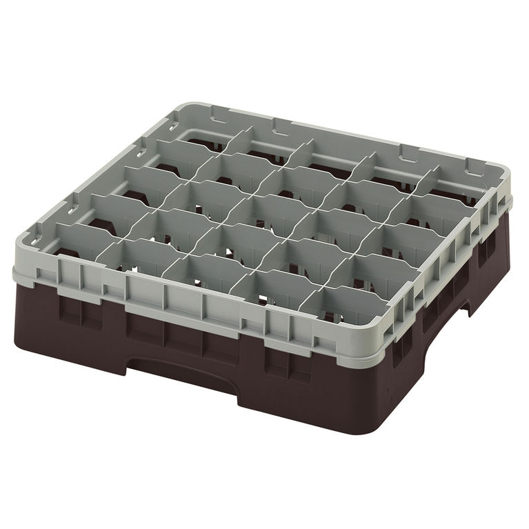 Brown 25 Compartment Camrack