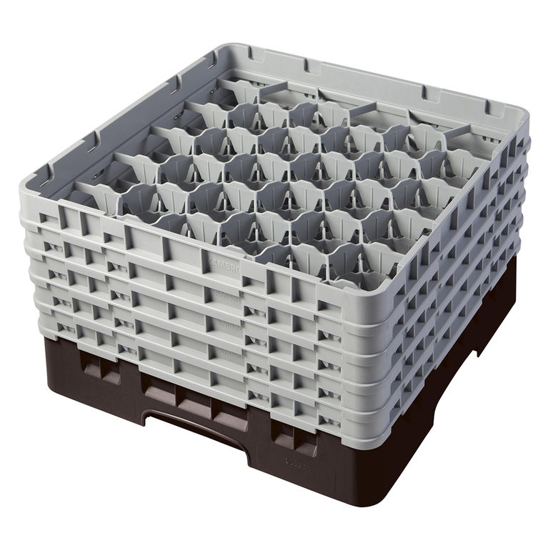 Brown 30 Compartment Camrack