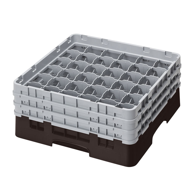 Brown 36 Compartment Camrack