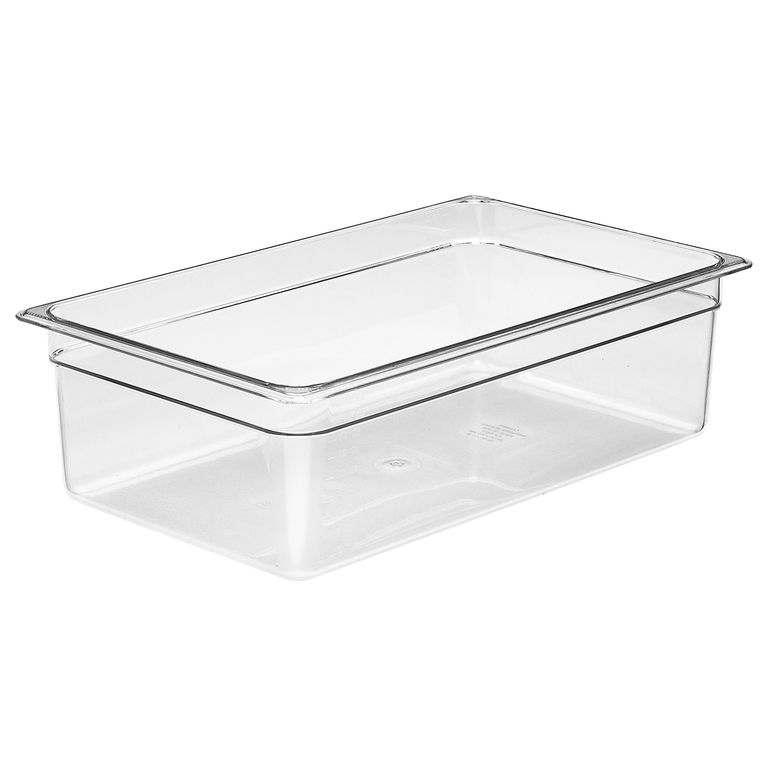 150mm Deep 1/1 Clear Polycarbonate GN Pan