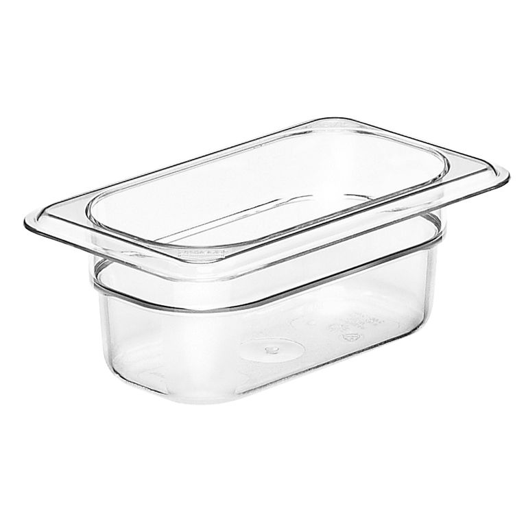 Clear 1/9 Polycarbonate GN Pan