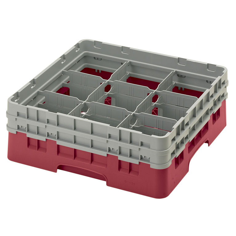 Cranberry 9 Compartment Camrack