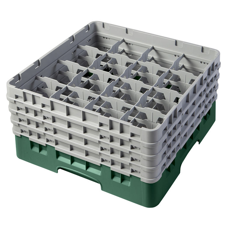 Green 16 Compartment Camrack