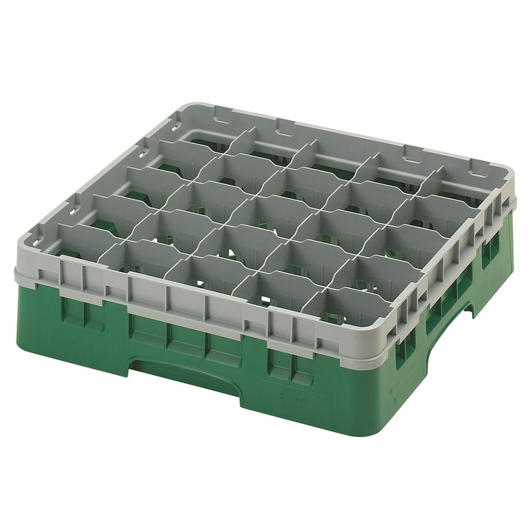 Green 25 Compartment Camrack