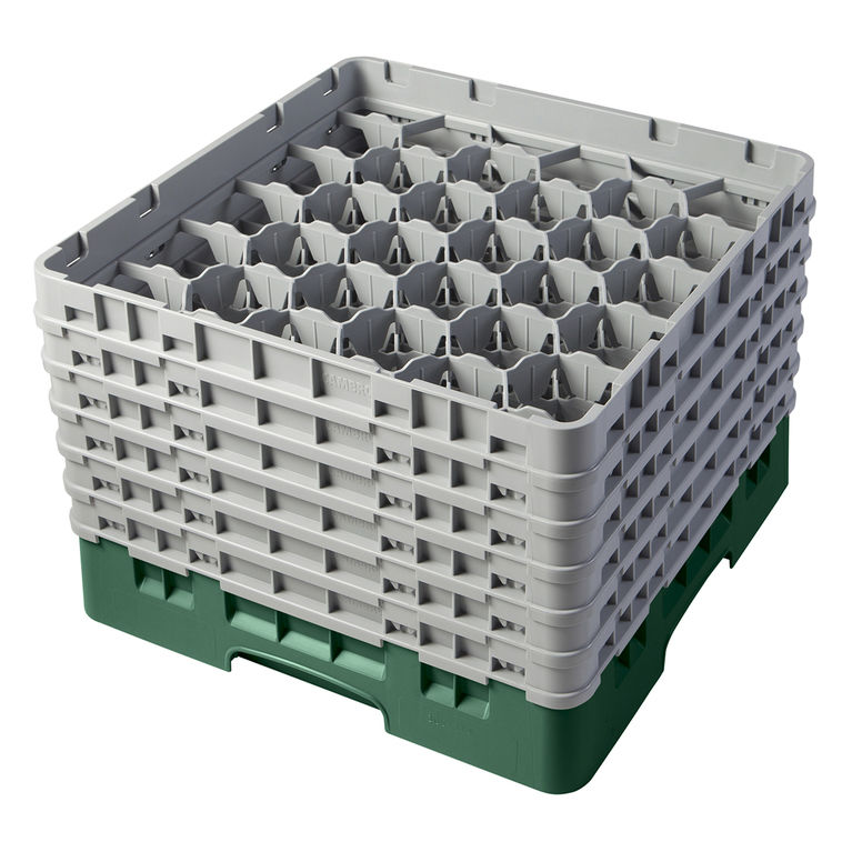Green 30 Compartment Camrack