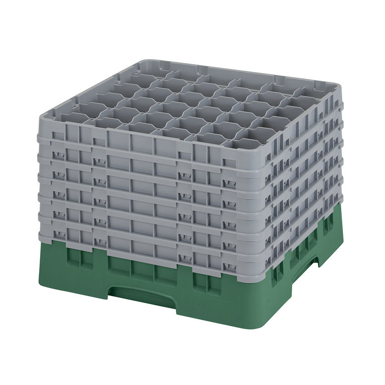 Green 36 Compartment Camrack