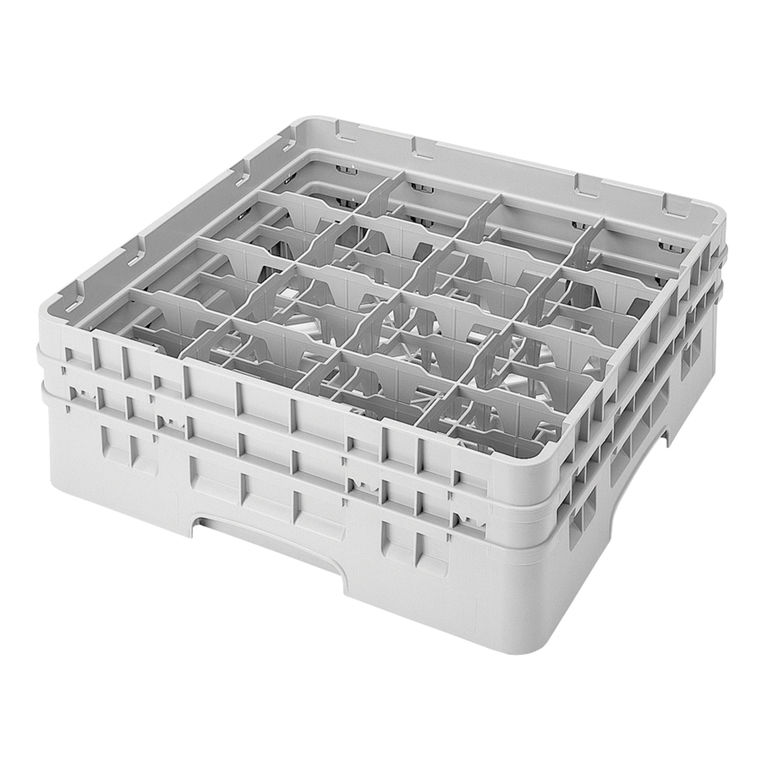 Grey 16 Compartment Camrack