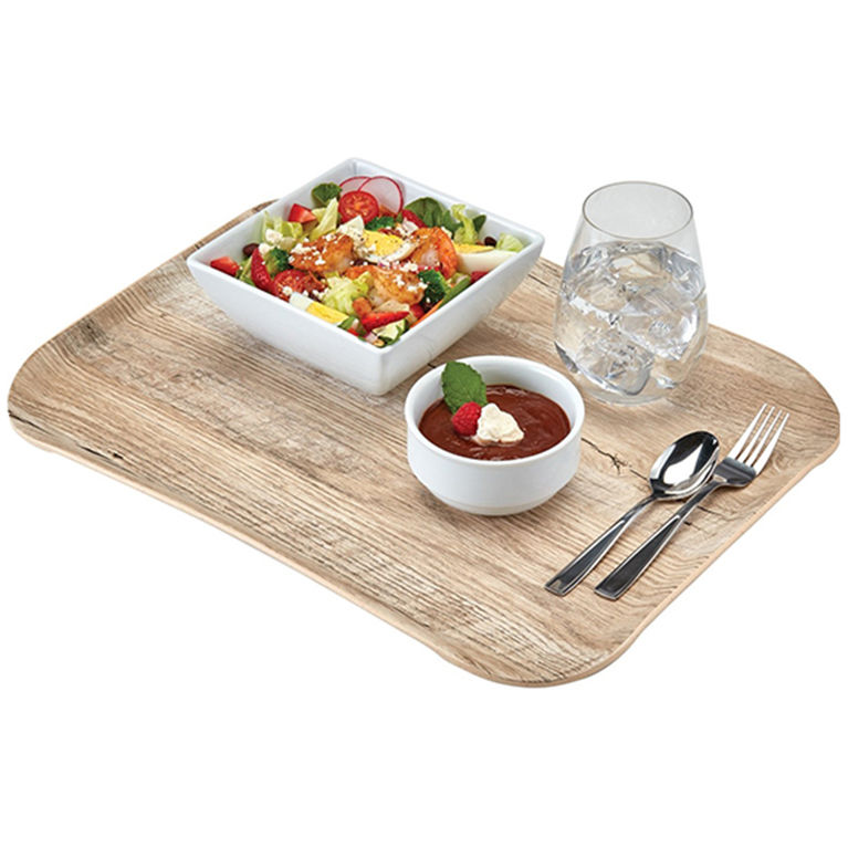 Light Oak Versa Century Wood Grain Tray