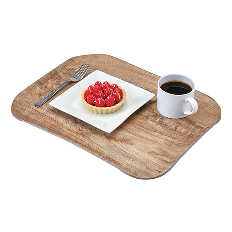 Light Olive Versa Century Wood Grain Tray