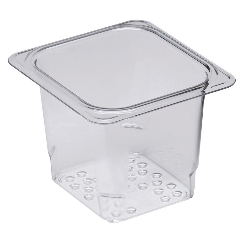 127mm Deep 1/6 Clear GN Colander Pan