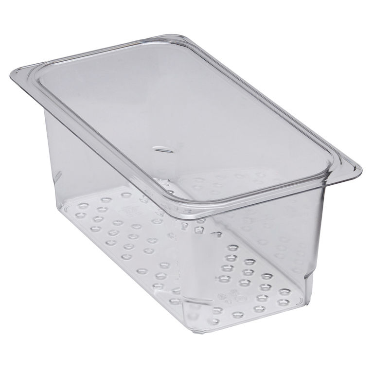 127mm Deep 1/3 Clear GN Colander Pan