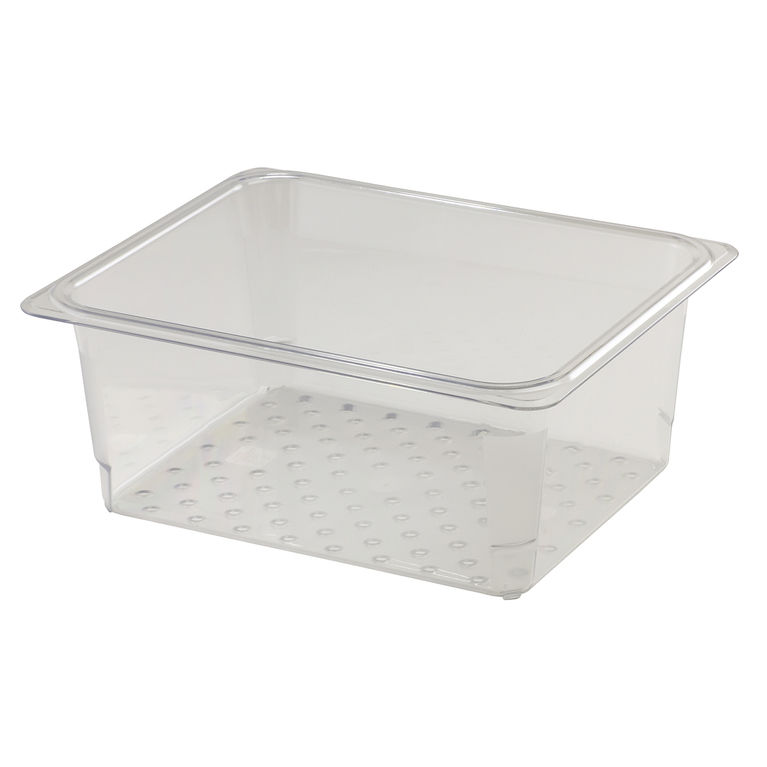 127mm Deep 1/2 Clear GN Colander Pan
