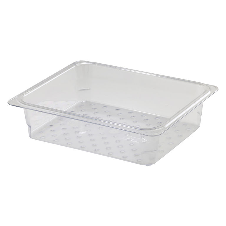 76mm Deep 1/2 Clear GN Colander Pan