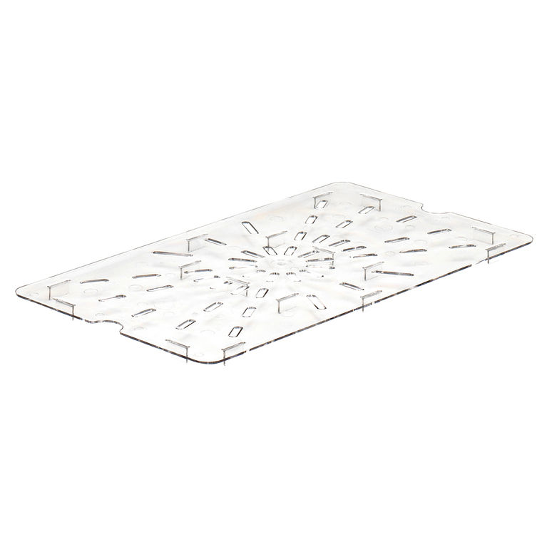 Clear 1/1 GN Drain Shelf