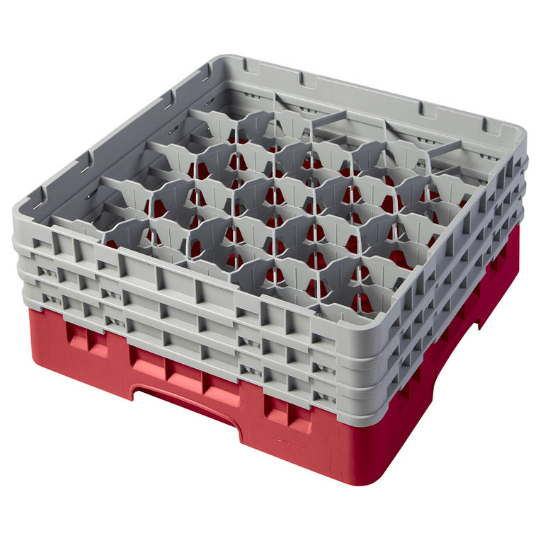 Red 20 Compartment Camrack