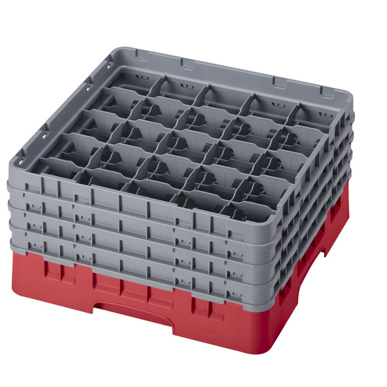 Red 25 Compartment Camrack