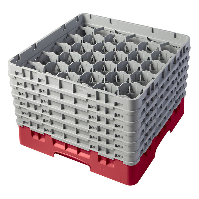 Red 30 Compartment Camrack