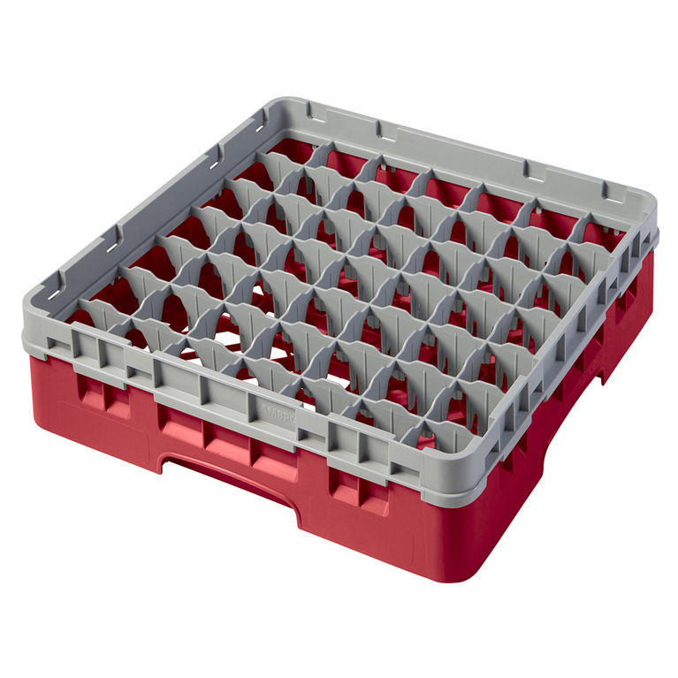 Red 49 Compartment Camrack